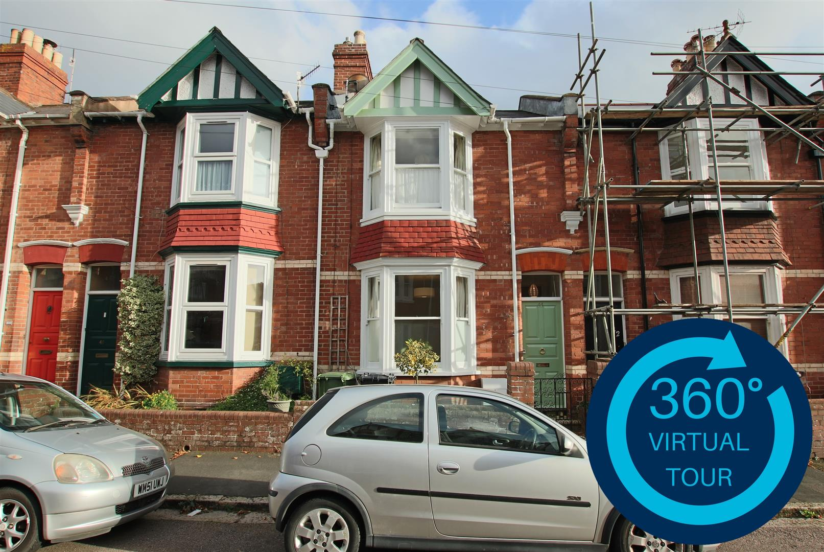 3 Bedrooms Terraced House for sale in West Grove Road, St Leonards, Exeter